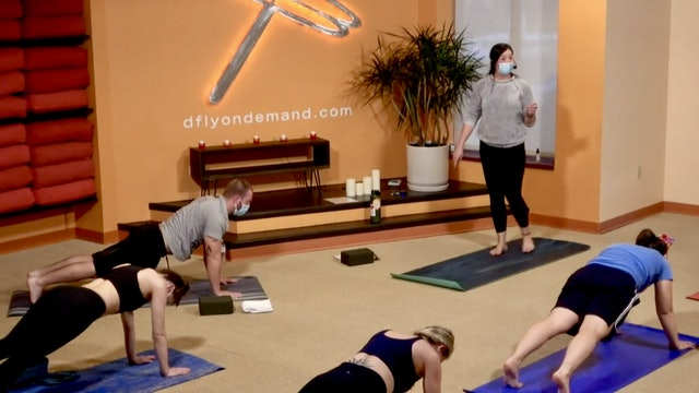 45 Minute Core Flow w/ Cassie (Livestream from 2/25/21)