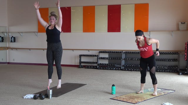 2 Minute Burpee Breakdown with Cora