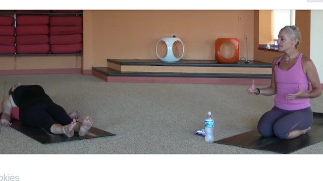 45 Min Prenatal Yoga w/Bridget (Livestream from 8/27/20) Starts @ 5:50 Min mark