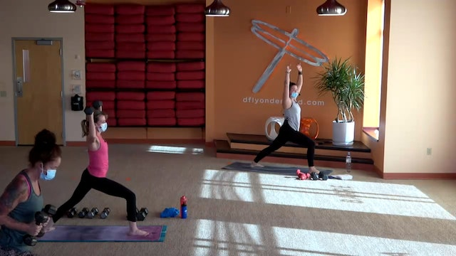 45 Minute Yoga Up® w/ Cassie (Livestream 11/1/20) Starts @ the 13:04 Minute Mark