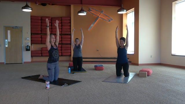 45 Minute Prenatal Yoga w/Bridget, (7...