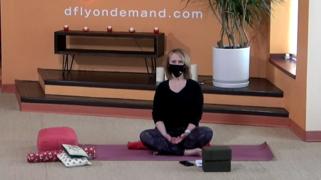 45 Minute Yin w/ Kay (Livestream from 1/24/21) Starts @ the 17:55 Minute Mark