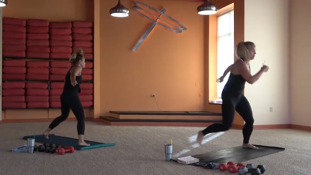 45 Minute Power Up® w/Jorie (Livestream from 8/13/20) Starts @ the 3:30 mark