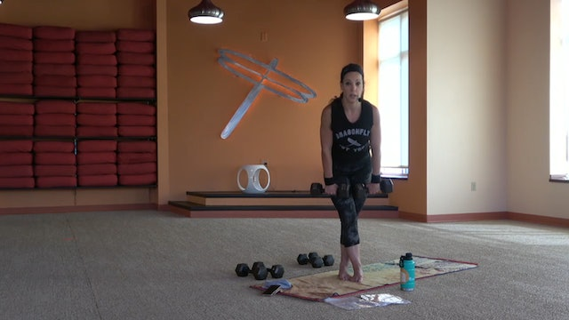 45 Minute Power Up® w/Pam (Livestream from 09/15/20) Starts @ 13:35 Minute mark