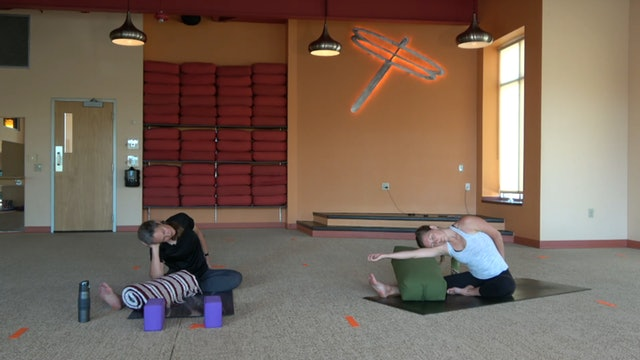 45 Minute Flow & Yin with Brenda (7/23/20 Livestream) Starts at 11:33 mark