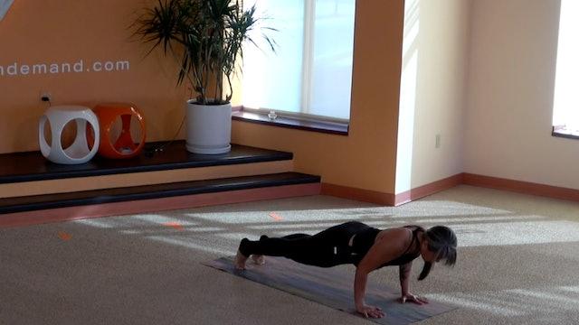 45 Minute Flow with Suki (Foundation 3: Chaturanga/Yoga Push-up)