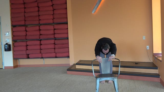 10 Minute Chair Yoga with Brady
