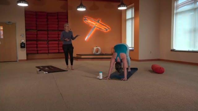 45 Min Prenatal Yoga w/Bridget (Lives...