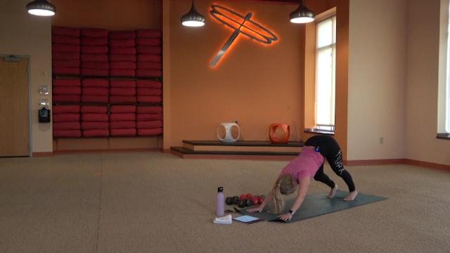 45 Minute Yoga Up® w/Haley (Livestream from 08/24/20) Starts @ 0:01 min mark