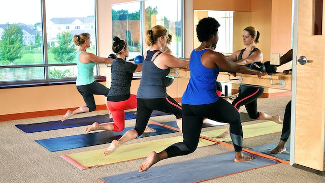 LIVE BarreAmped Bootcamp w/ Lindsey, ...