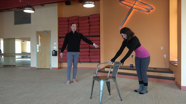6 Minute Chair Yoga with Brady and Lynn