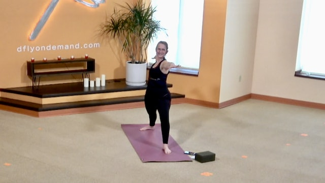 45 Minute Warrior Flow with Kay (Filmed on 03/15/21)