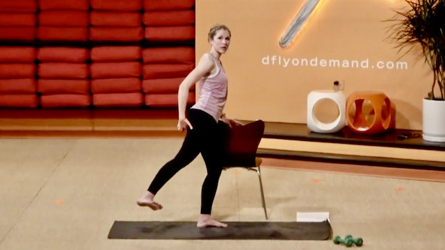 45 Minute BarreAmped Bootcamp with Lindsey from 11/04/2020