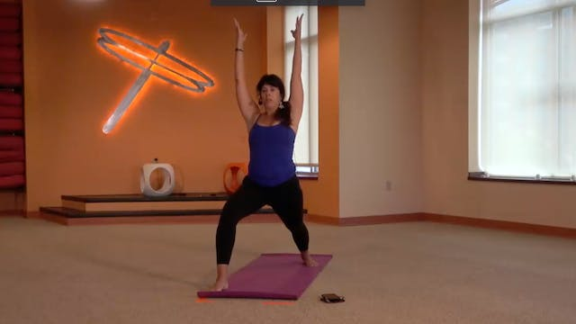 45 Minute Power Flow w/Heather (Lives...