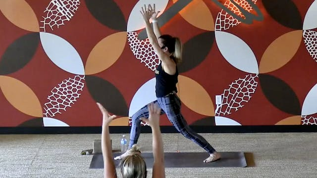 45 Minute Core Flow w/ Samantha (Live...