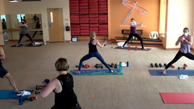 60 min Yoga Up w/ Laura (Livestream 5...