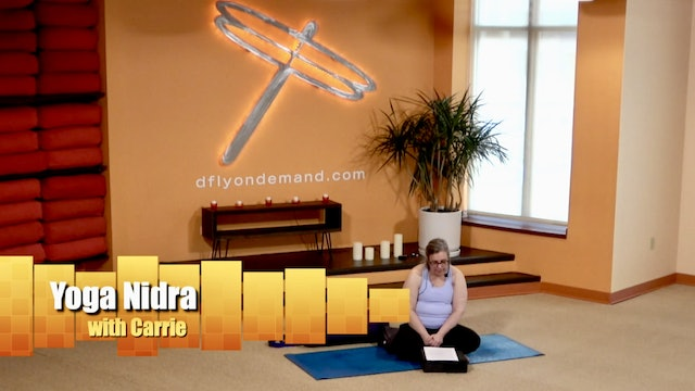 13 Min Yoga Nidra with Carrie from 01/21/21