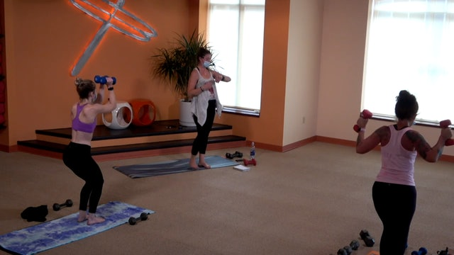 45 Minute Yoga Up w/ Cassie (Livestream from 10/25/20) Starts @ 10:50 min mark