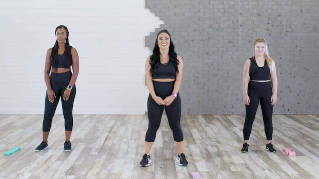 Booty Gains-Squat Kickback