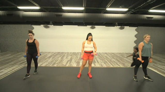 Weighted Moves Focus 09-08-20 HIIT2Fit