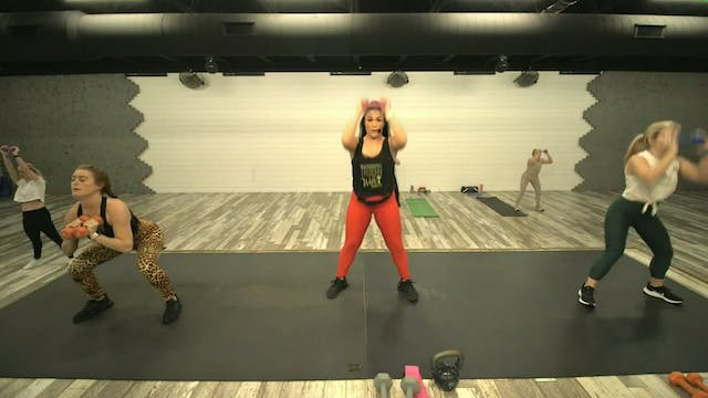 Legs/Glutes/Abs Day 12-02-20 HIIT2FIT
