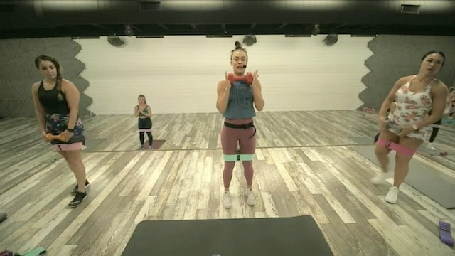 Booty/Legs Work HIIT2FIT 08-14-21