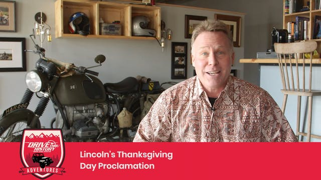 Lincoln Thanksgiving Proclamation