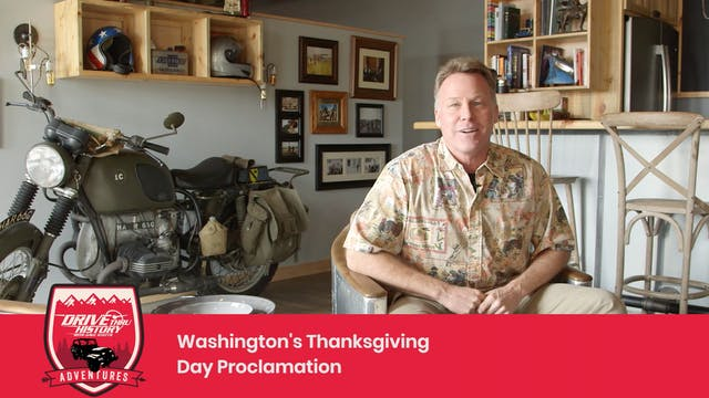 Washington Thanksgiving Proclamation