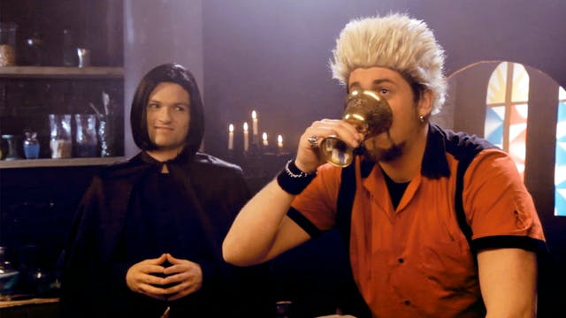 Guy Fieri at Hogwarts