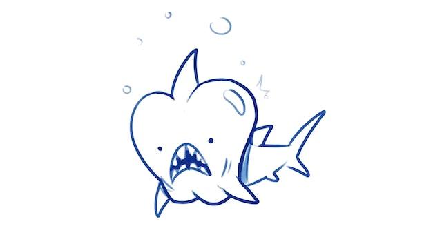 Morning Drawfee - Fruit Sharks