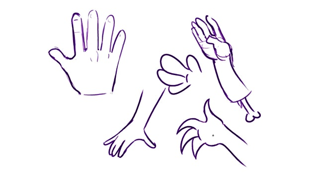 Draw Class - How to Draw Hands