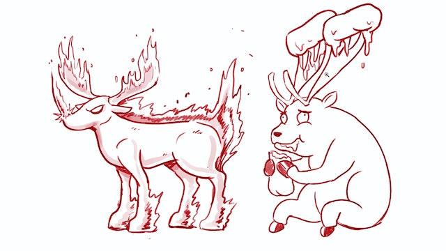 Morning Drawfee - Rejected Reindeer