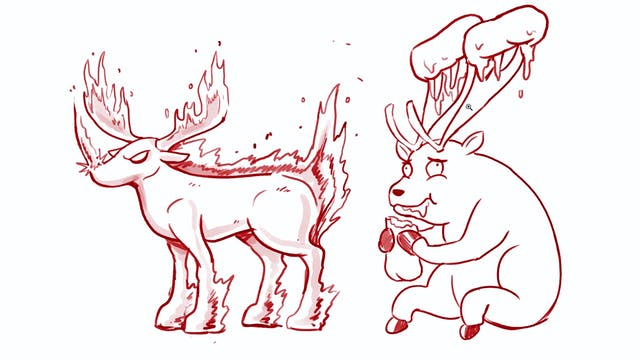 Morning Drawfee - Rejected Reindeer