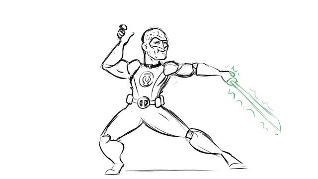 Drawing More Superhero Mash-Ups