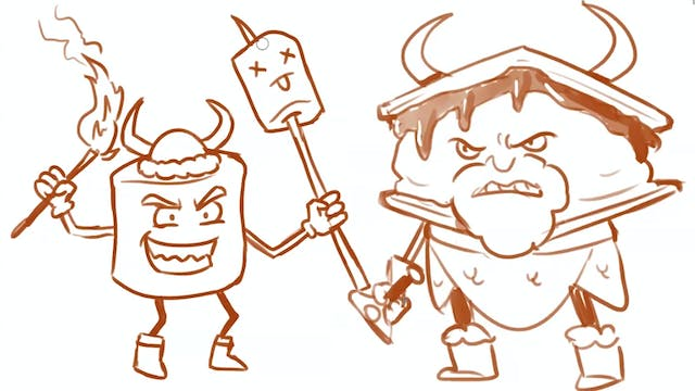 Morning Drawfee - Barbarian Marshmallows