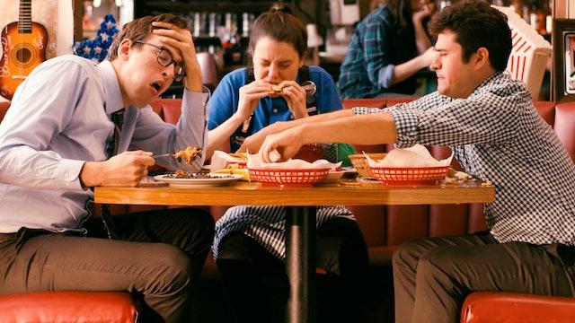 Stressagains: The Restaurant for Stress-Eating