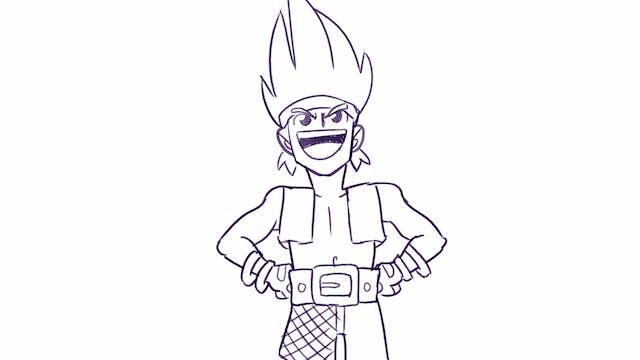 Morning Drawfee - Bad JRPG Characters