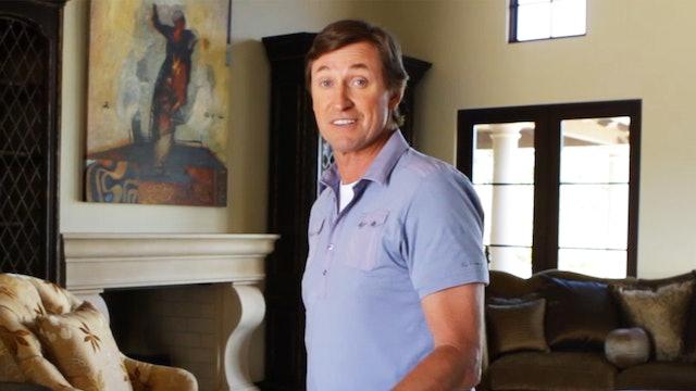 Wayne Gretzky's Trick Shots!!