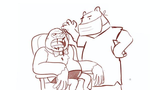 Morning Drawfee - Animals Acting Like...