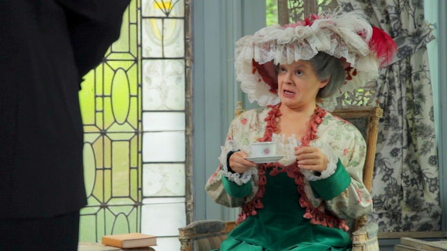 Very Maggie Smith: The Case of the Cracked Teacup