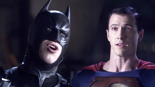 Badman and Superman Team Up