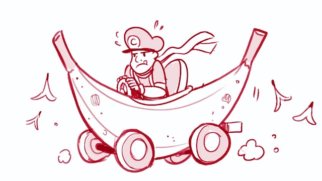 Morning Drawfee - We Design Our Own Mario Karts