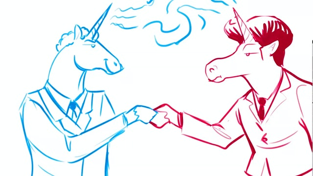 Morning Drawfee - Political Unicorns