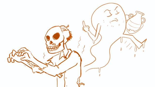 Draw Class - How to Draw Spooky Stuff