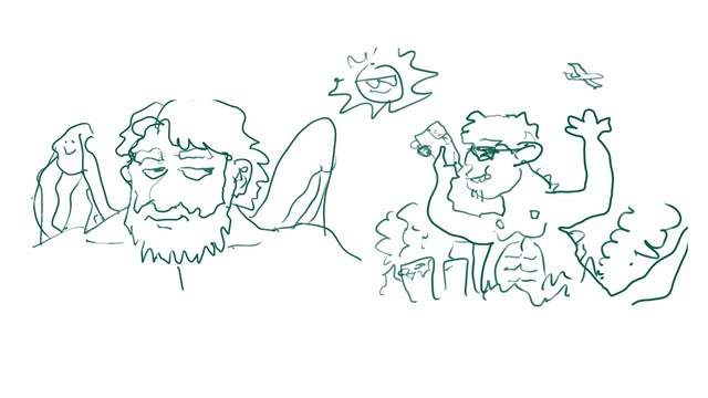 Drawmbat - Mouth Portrait Challenge