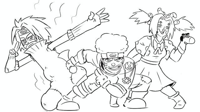 Knock-Off Naruto Characters