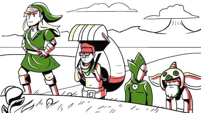 Three Artists Try Drawing Zelda Bosse...