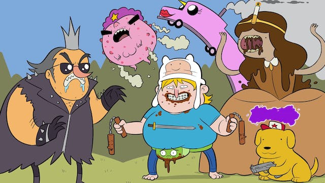 Knock-Off Adventure Time Characters