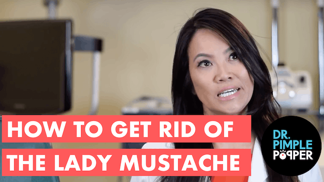 How to Get Rid of the Lady Mustache