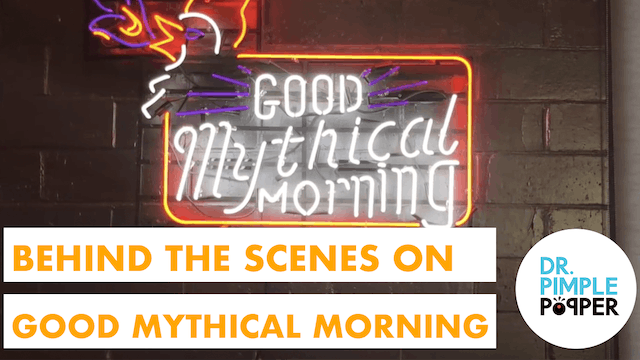 "BTS: ""Pimple Popping"" with Good Mythical Morning!"